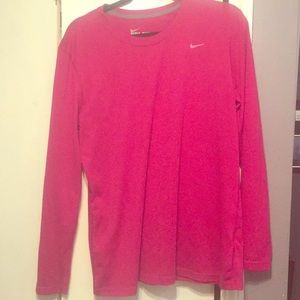 Womens Nike Dri-fit Long-sleeved Top